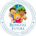 Logo akcji dwujęzyczne dzieci