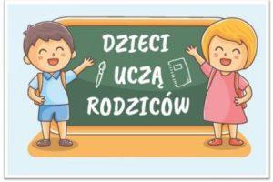 Logo akcji Dzieci Uczą Rodziców