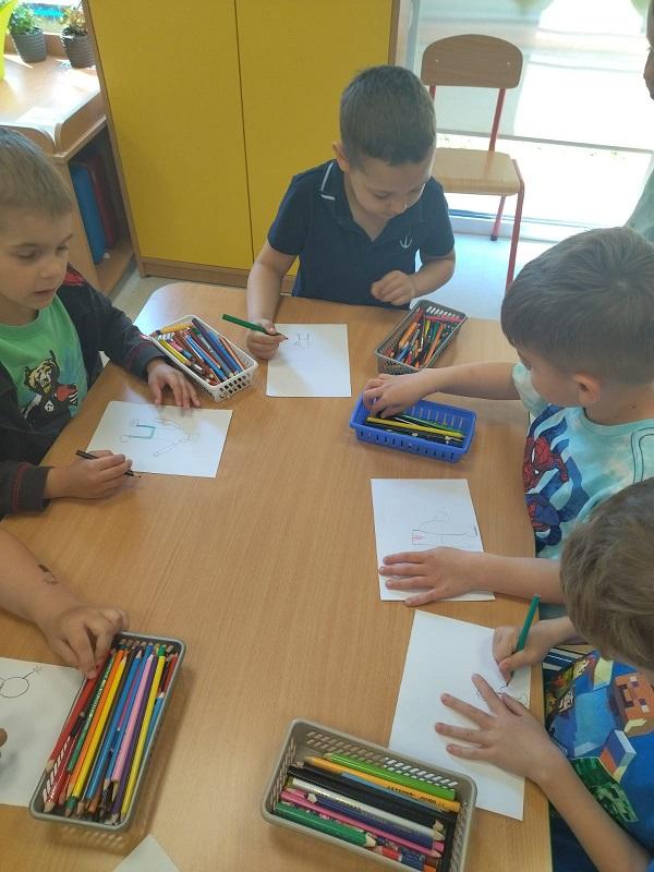 """Projekt edukacyjny ,,Nie ufaj nieznajomym"""" w grupie Biedronek"""