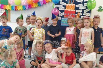 Urodziny w grupie Żabek